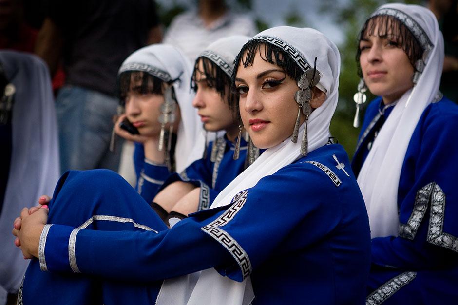 11. GRUZJA, Tbilisi. Na Festiwalu Muzyki Folkowej wszyscy mieli po sto historii do opowiedzenia. (Fot. Anna Alboth)