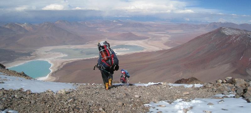 Ten pionierski projekt narodził się podczas wyprawy nurkowej do najwyżej położonego jeziora na świecie, ukrytego w kraterze wulkany Licancabur w Boliwii. (www.wyprawy.az.pl)