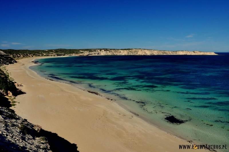 Coffin Bay i niesamowity błękit wody