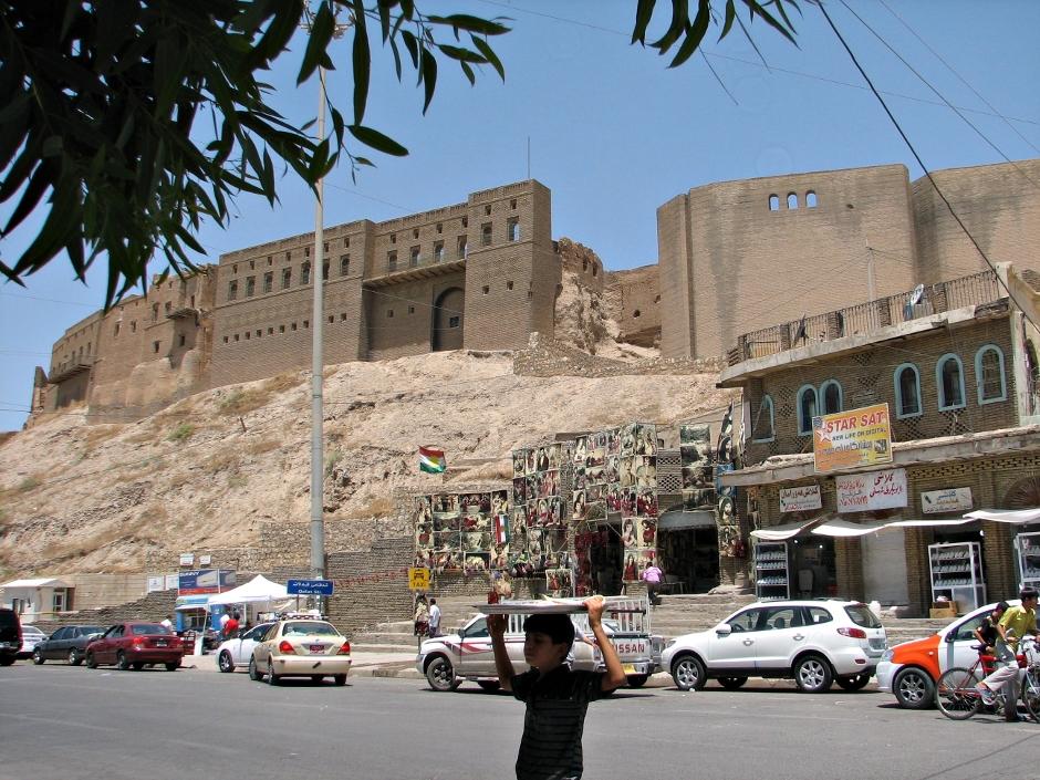 3. IRACKI KURDYSTAN, Erbil. W samym sercu miasta znajduje się licząca wg. źródeł UNESCO ponad 7000 lat cytadela. (Fot. Katarzyna Komorek)