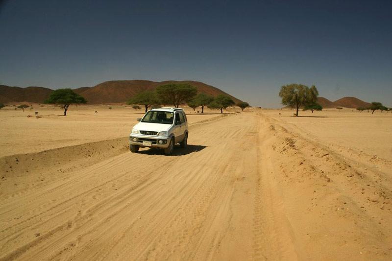 Sudan - gdzieś na pustyni