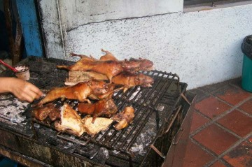Pyszne jedzenie w Ameryce Południowej.