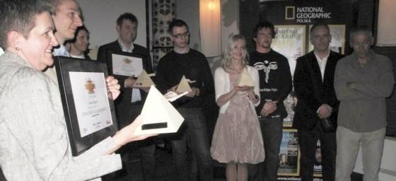 Laureaci nagród Travelery 2010. (Fot. Ewa Serwicka)