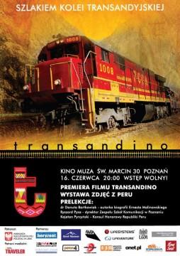"""""""Transandino"""" to opowieść o fascynującej podróży koleją transandyjską."""