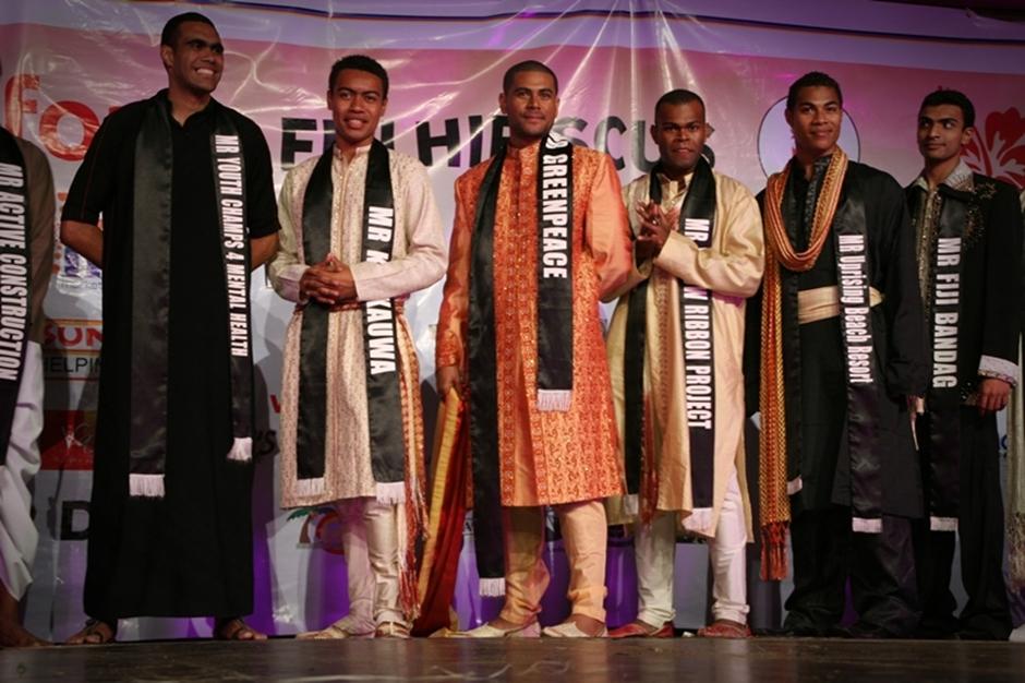 8. FIDŻI, Suva. Panowie też mają szanse się wykazać. Wybieranie najbardziej przystojnego i utalentowanego mężczyzny to jeden z punktów Hibiscus Festival. (Fot. Tomek Biskup)