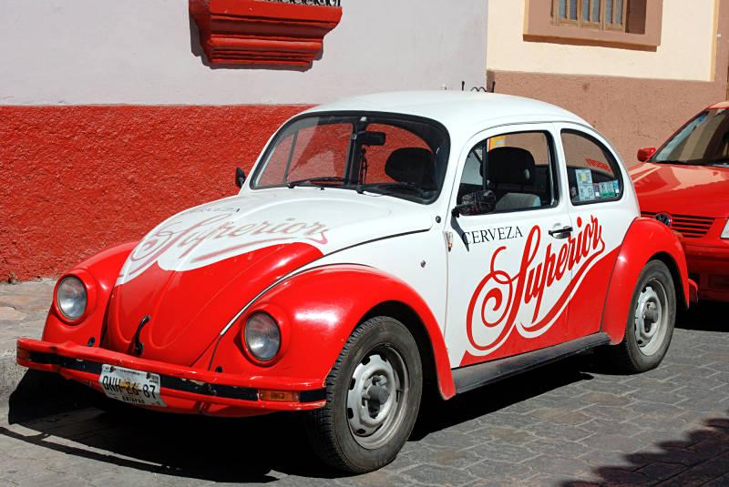 VW Garbus - jeden z symbolów Meksyku. (Fot. Marcin Kruczyk)