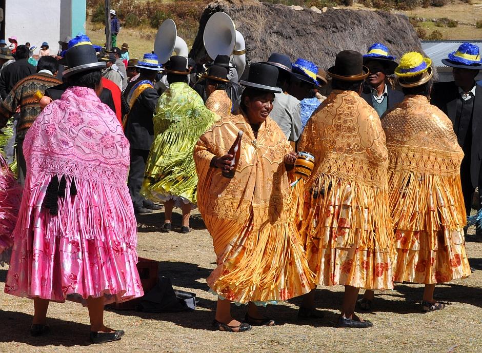 3. Boliwia, Isla del Sol. Z Paceñą w dłoni można kręcić się w kółko do upadłego... (Fot. Maja Szymańczak)