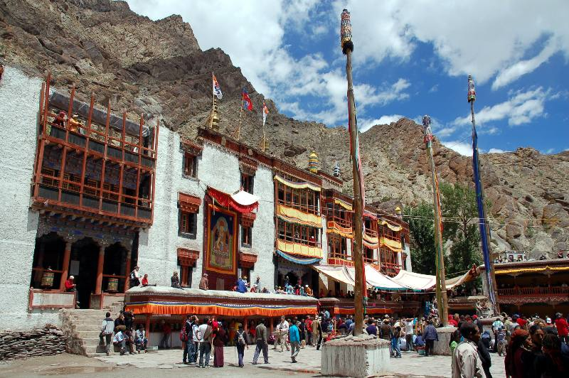 Ladakh, buddyjski klasztor w Hemis