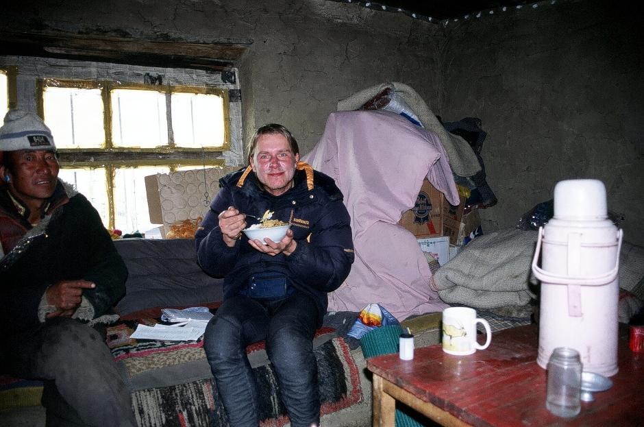 Nocleg u gościnnych Tybetańczyków