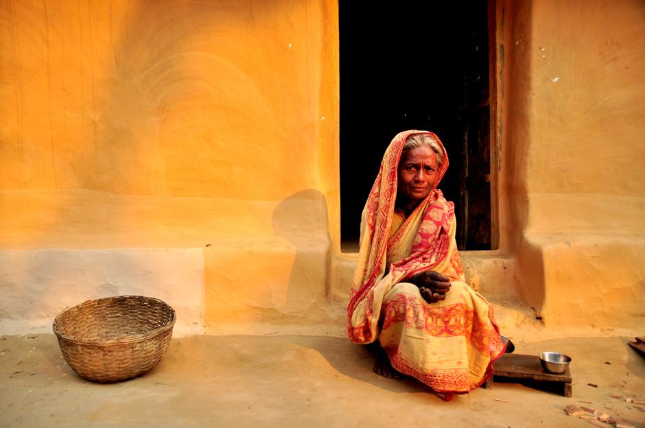 Mieszkanka Bangladeszu. Zdjęcie z wioski Ramnagar