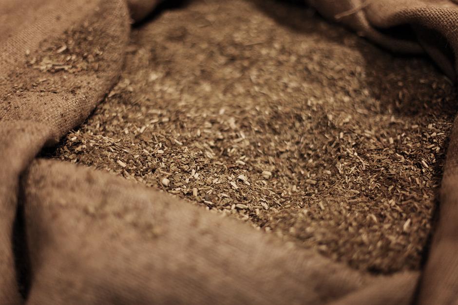 Zdjęcia z fabryki yerba mate w Argentynie