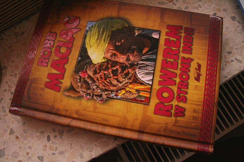 """Robb Maciąg - """"Rowerem w stronę Indii"""""""