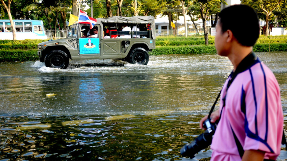 Tajlandia tonie pod wodą