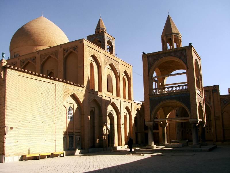 Isfahan - ormiańska katedra Vank