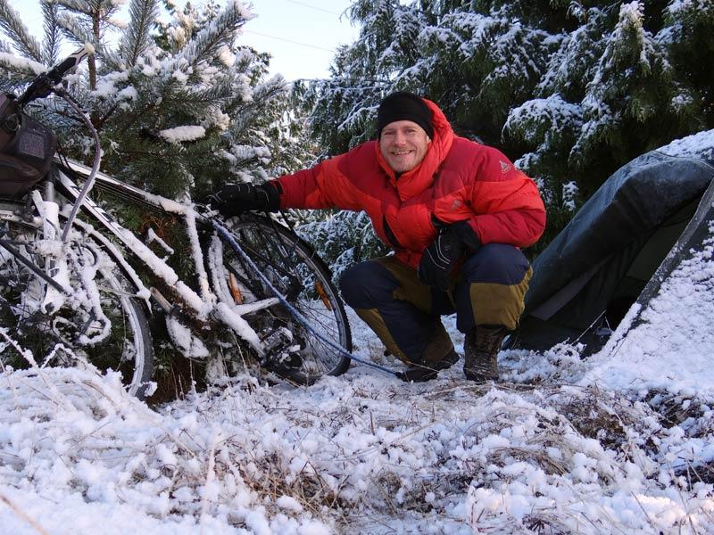 Kolejny śnieżny poranek. (Fot. Piotr Strzeżysz)
