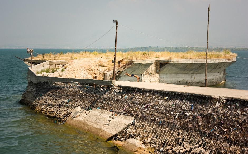 Molo w Albanii