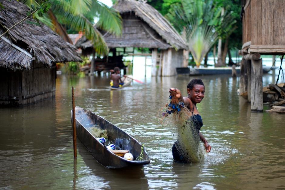 Pora deszczowa w Nowej Gwinei