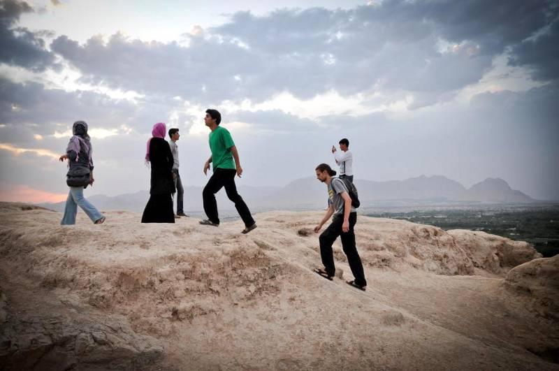 Góra Soffeh w Esfahanie