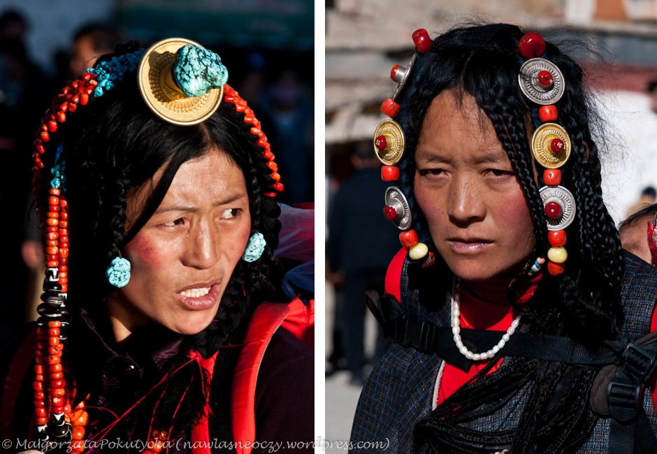 Codzienny strój pielgrzymów do Lhasy