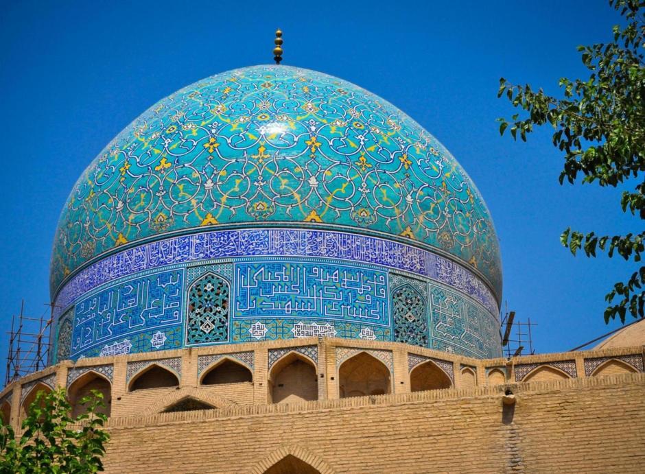 Jeden z irańskich meczetów