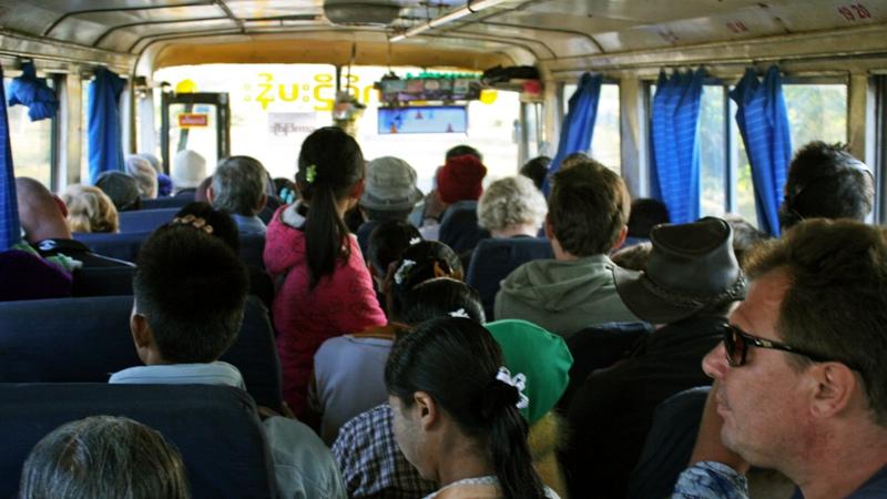 Na świecie istnieje wiele osób, które w jakiś sposób podróżują. (Fot. Ewa Serwicka)