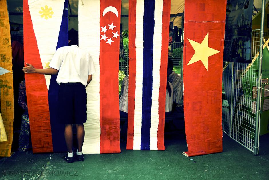 Flagi państw południowowschodniej Azji