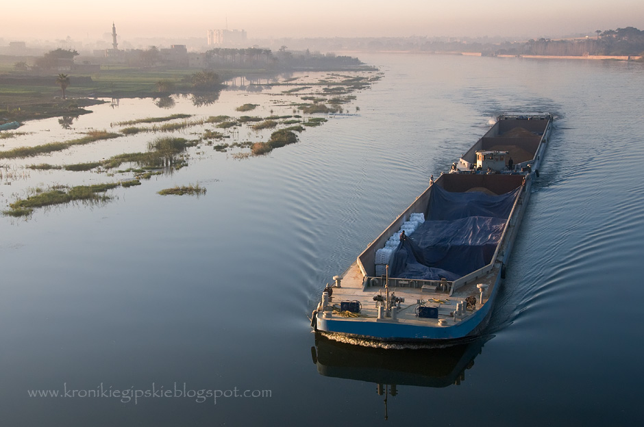 Transport rzeczny na Nilu
