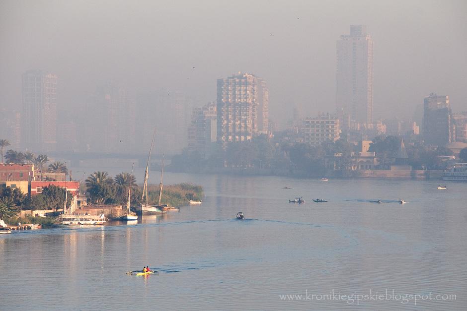 Wschód słońca nad Nilem