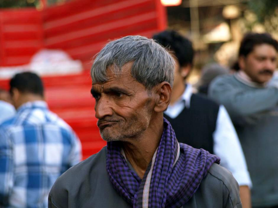 Przechodzień w Delhi