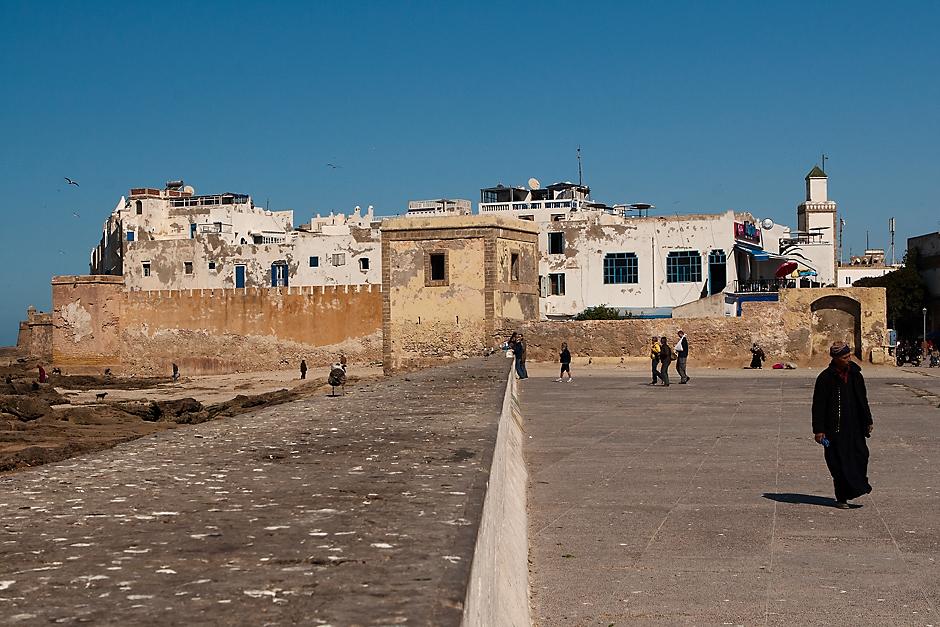 Fort Skala de la Ville w Essaouirze