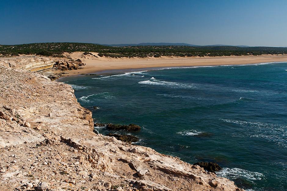 Plaże w Maroku nie zawsze muszą być pełne turystów
