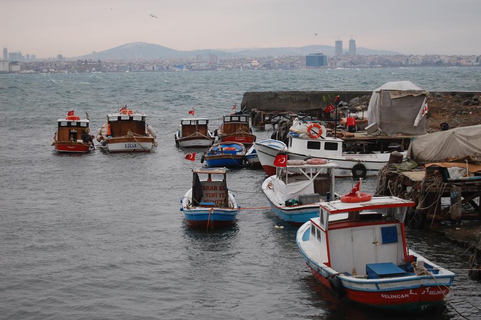 Statki w Istambule