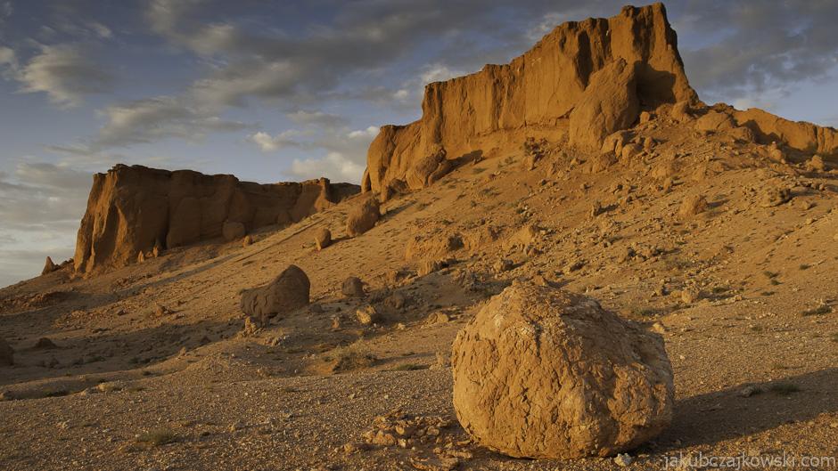 Płonące Klify na Pustyni Gobi
