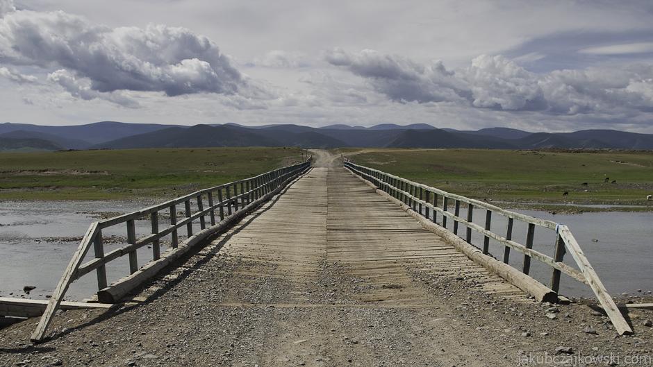 Zdjęcia z podróży do Mongolii. Rzeka Orhon