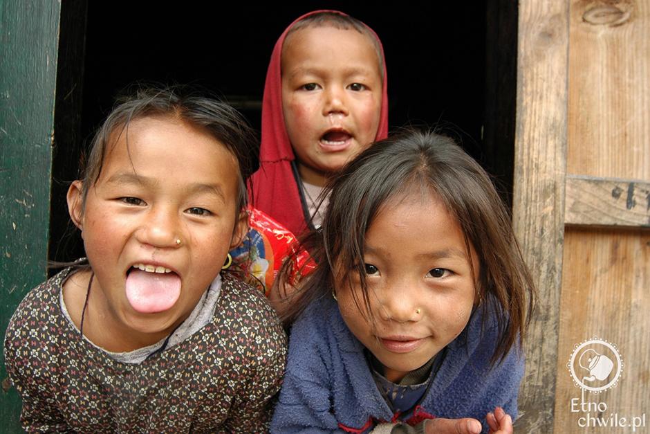 Dzieci z Nepalu