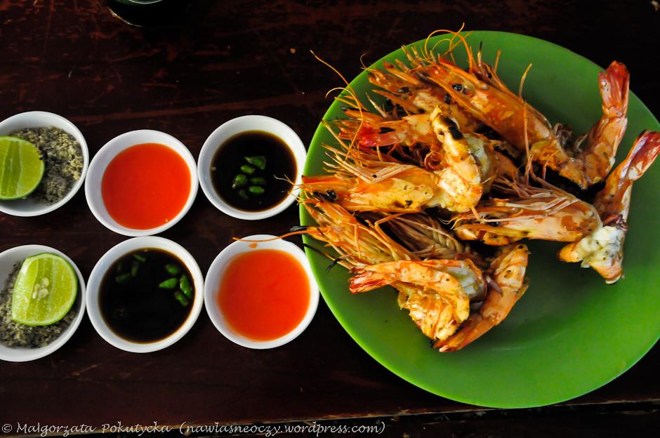 Nadmorska jadłodajnia w Wietnamie