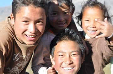 dzieciaki z Jharkot