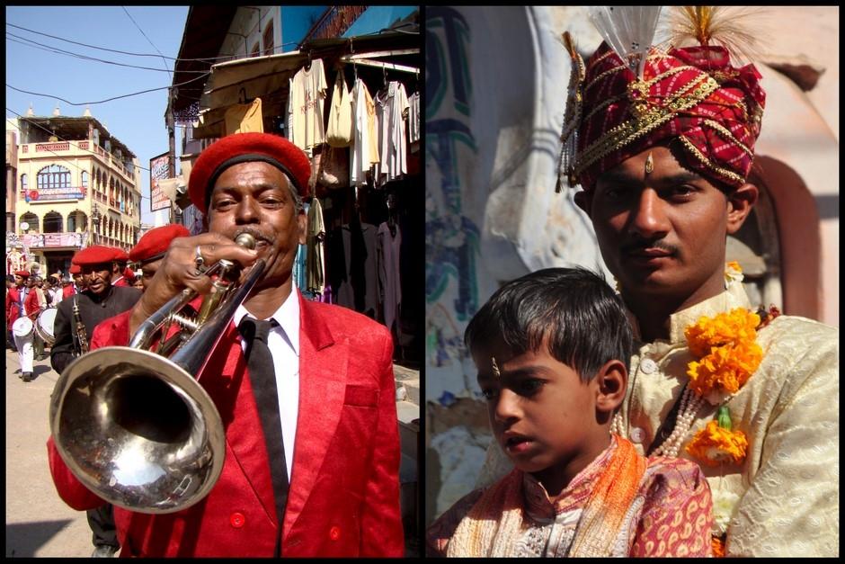 Indyjskie wesele - pan młody