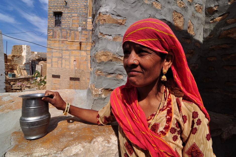Kobieta z północnych Indii