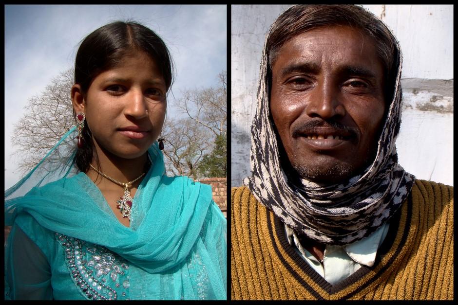 Mieszkańcy Indii. Zdjęcia z podróży