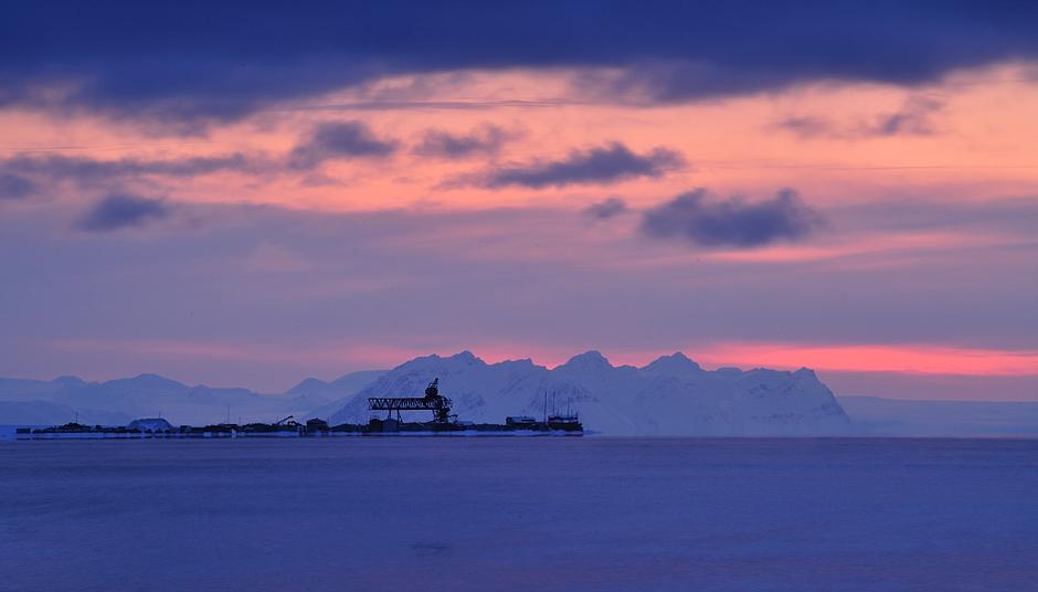 Adventfjorden, Spitsbergen