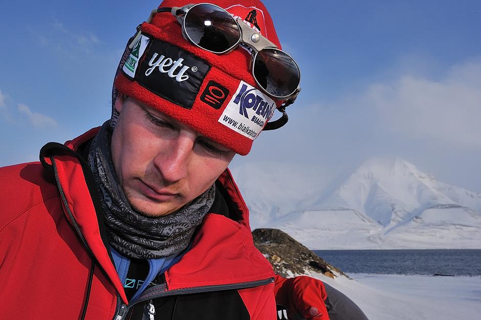 Szymon Jasieński z ekipy Torrell Expedition