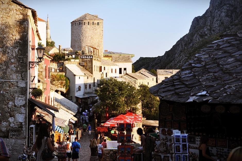 Stara część Mostaru