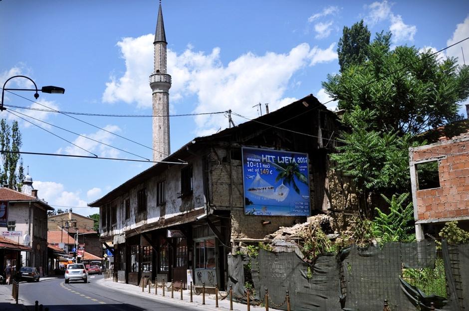 Minarety w Bośni