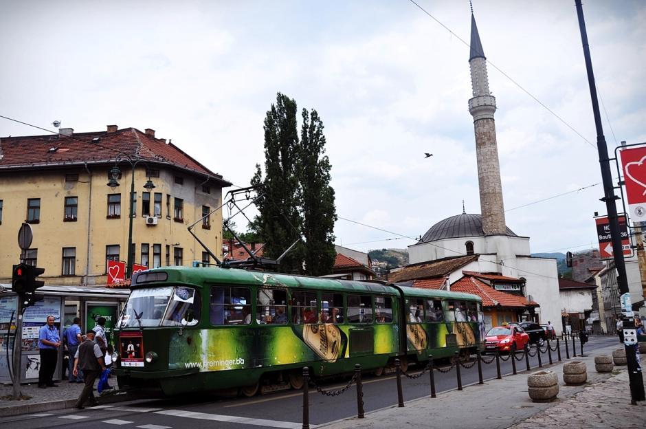 Tramwaj w Sarajewie