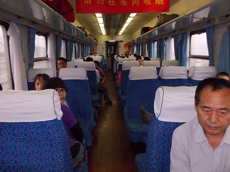 Podróż chińskim pociągiem