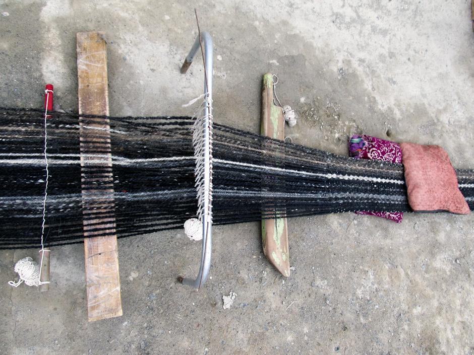 Warsztat tkacki. Zdjęcia z podróży w Pamir