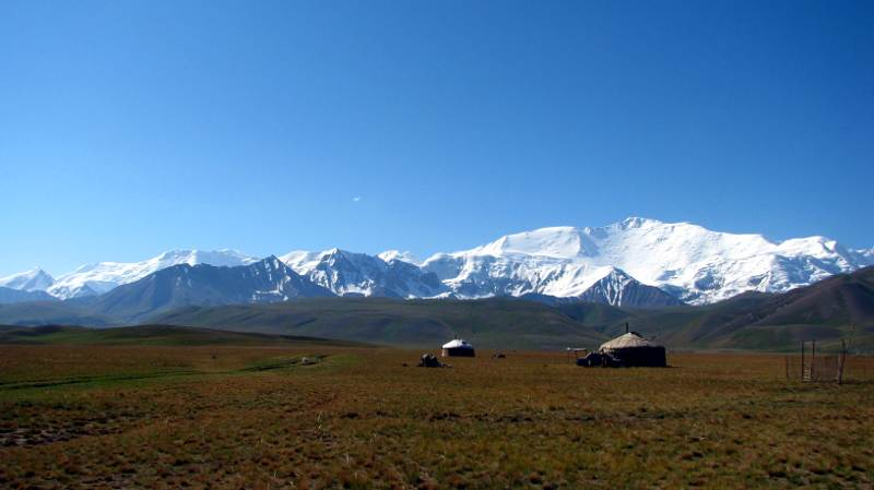 Kirgistan, Pik Lenina