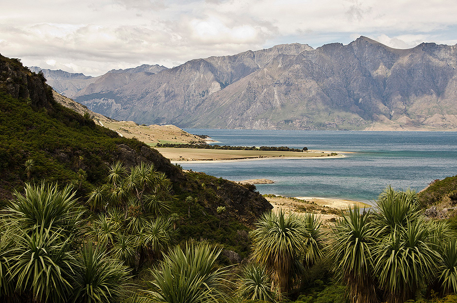 Jezioro Hawea w Regionie Otago