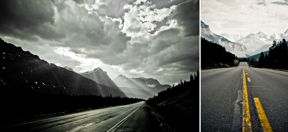 Icefields Parkway - podróż przez Kanadę